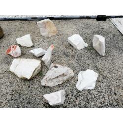 Roche marbre blanc 200/400