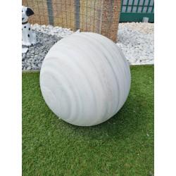 Sphère marbre poli D.40cm