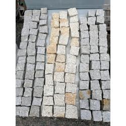 Pavé granit 8 x 10 x 3/5cm...